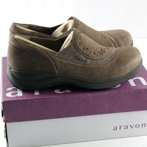 Aravon Shoes - Aravon Revsolace Loafers Sz 6.5 2E Extra Wide